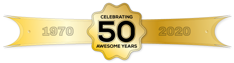 50 Awesome Years 1970-2020